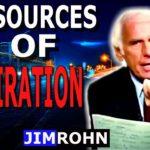 Cinco Fuentes de inspiración por Jim Rohn